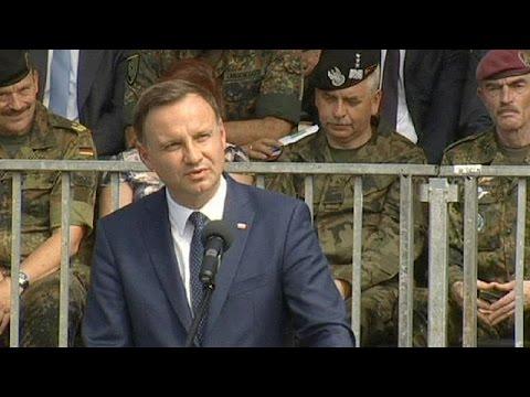 Πολωνία: Ισχυρότερους δεσμούς με το ΝΑΤΟ ζητά ο πρόεδρος Ντούντα