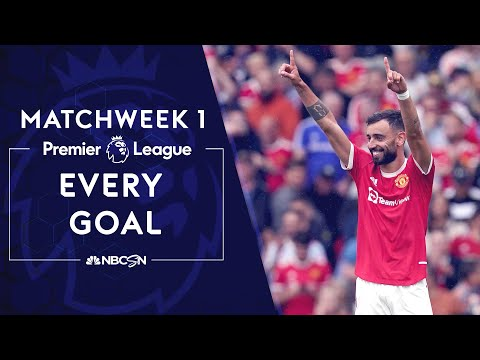 Every Premier League goal from Matchweek 1 (2021-2022)   NBC Sports