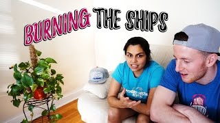 I Quit My Job! | Burning The Ships | My First Day As A Full Time Food Blogger