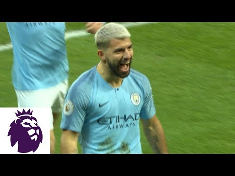 Video: Sergio Aguero's first-minute strike gives Man City lead v. Arsenal | Premier League | NBC Sports