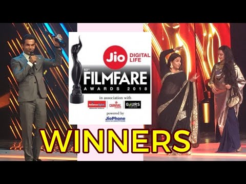 Filmfare Awards 2018 Winners - Irrfan Khan, Rajkum