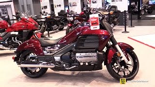 6. 2015 Honda Gold Wing Valkyrie - Walkaround - 2014 New York Motorcycle Show