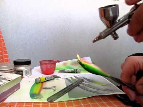 какими масляными красками красят самодельные воблера