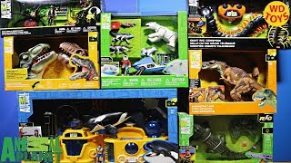 New 8 Animal Planet Toy Sets Huge Shopping Spree Toys R Us Unboxing Jurassic Park