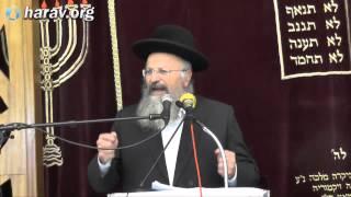 """הרב שמואל אליהו – פרשת תולדות (ה'תשע""""ה)"""