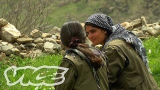 クルド人女性戦士(2) 独立運動に性別は関係無い