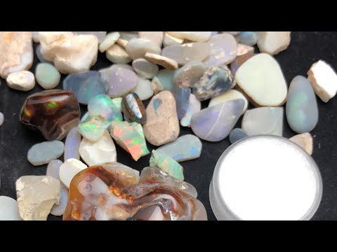 Secret Item! Live 1 Minute Auctions! Opal Rubs Starting @ $1 Fire Agate Starting @ $5