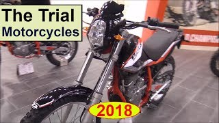 9. The Trial bikes for 2018
