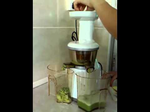 เครื่องดื่มสมุนไพรจากใบสดเสลดพังพอน(ตัวเมีย), แอปเปิล และมะนาว ปั่น