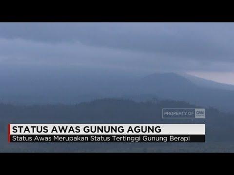 Status Awas Gunung Agung Terkini, Warga Bali Mulai Mengungsi ke Lombok