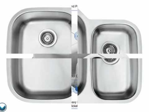 Video for 30-Inch Undermount Stainless Steel 18 Gauge Double Bowl Kitchen Sink