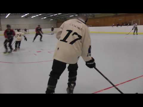 Roller Hockey Match Video Bisley Bullets Farnborough Arrows