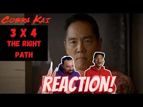 🆕 CHOZEN!! 😱 Cobra Kai 3x4 The Right Path 👉 REACTION!!! Season 3 Episode 4 S03E04 #cobrakai