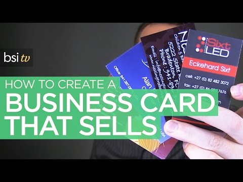 How To Design A Business Card That Sells & Makes You Money