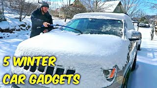 Video 5 Winter Car Gadgets put to the Test! MP3, 3GP, MP4, WEBM, AVI, FLV Maret 2018