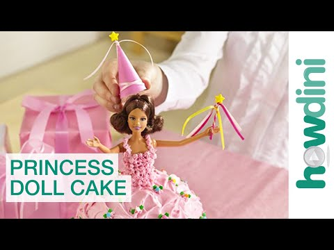 princess - http://bit.ly/betty_crocker_birthdays Any little birthday girl would love this magical unique princess doll cake for her party, decorated with a real doll sh...