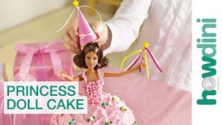 Birthday Cake Ideas: How to make a princess doll birthday cake