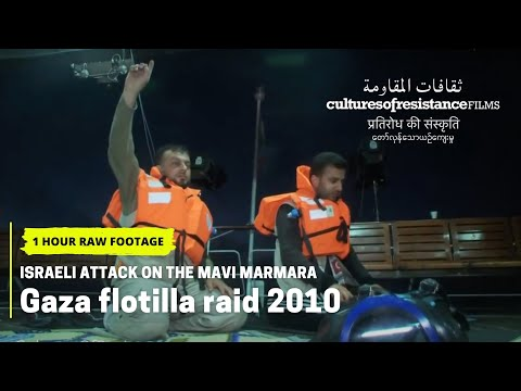 Israeli Attack on the Mavi Marmara // Raw Footage