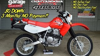2. 2015 Honda XR650L Dual Sport Review of Specs / SALE Price - Chattanooga TN Motorcycles since 1962!