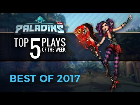 Paladins - Top 10 Plays of 2017