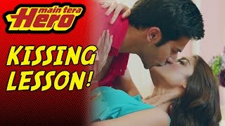 Nonton Scene From Main Tera Hero | Kissing Lesson Film Subtitle Indonesia Streaming Movie Download