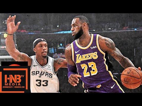 Los Angeles Lakers vs San Antonio Spurs Full Game Highlights   12.05.2018, NBA Season
