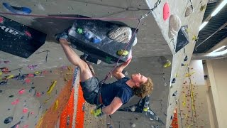 IT HAPPENED!! Nikken Is Sport climbing On A 8C! by Eric Karlsson Bouldering