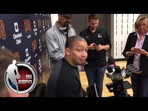 Video: Tyronn Lue on Tristan Thompson injury and starting Jae Crowder | NBA on ESPN
