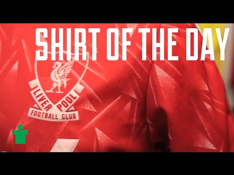 Shirt Of The Day - 1989/91 Liverpool Home Shirt