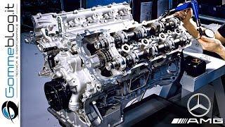 Video Mercedes AMG V8 ENGINE - PRODUCTION (German Car Factory) MP3, 3GP, MP4, WEBM, AVI, FLV Agustus 2019