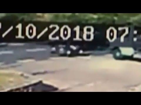 Video shows George Clooney motorcycle crash