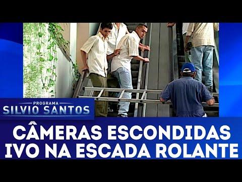 Ivo na Escada Rolante   Câmeras Escondidas (22/04/18)