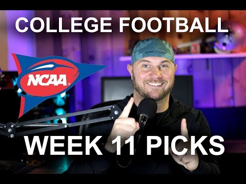 College Football 2019 Week 11 Preview and Predictions!