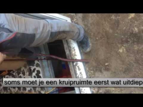 Video: Kruipruimte uitdiepen