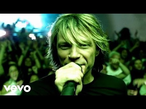 It's my life – Jon Bon Jovi