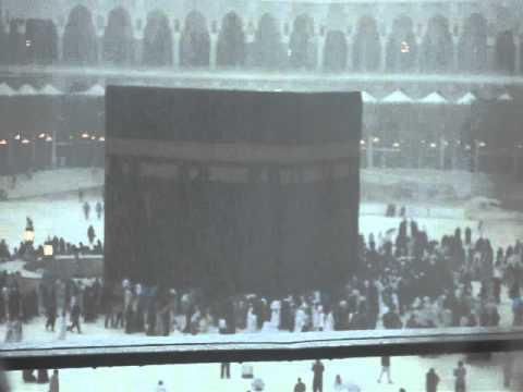 أمطار الحرم المكي  يوم الخميس 30  12  2010