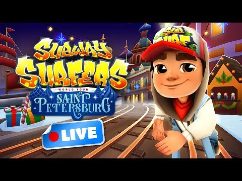 🔴 Subway Surfers World Tour 2017 - Saint Petersburg Gameplay Livestream