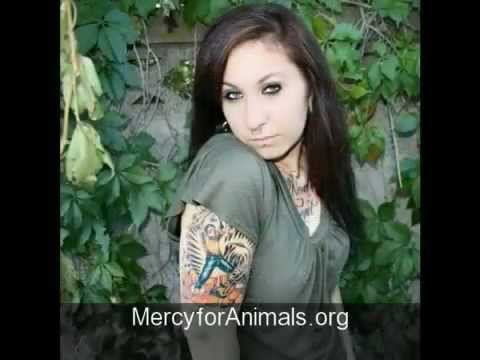 TATTOOS Hair style Undercut Body Art Piercings VEGAN Animals PETA ALF Heal Hurt Ideas Miami Ink