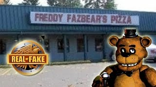 FREDDY FAZBEAR'S Pizza Place-  real or fake?