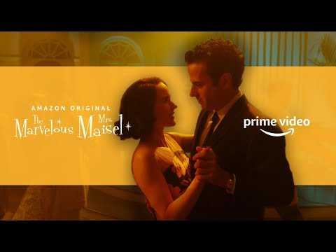 The Marvelous Chemistry of Midge & Lenny | Flirty Scenes | Prime Video