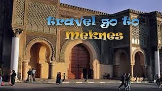 Meknes Morocco  city photo : meknes cities of Morocco travel