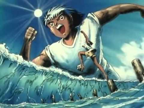 El tiro mas poderoso de todo Super Campeones   El tiro del dragon o relampago de Steve Hyuga