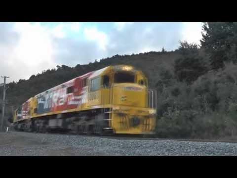 KiwiRail Trains in the School Holidays (HD)