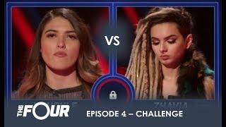Video Kendyle vs Zhavia: The BOMBSHELL Result That Has Meghan Trainor Sobbing on LIVE TV | S1E4 | The Four MP3, 3GP, MP4, WEBM, AVI, FLV April 2018