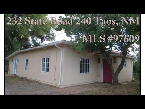 232 State Road 240, Taos, NM MLS #97609