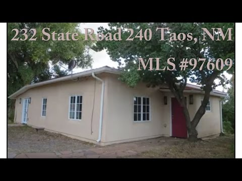 232 State Road 240, Taos, NM MLS #97609