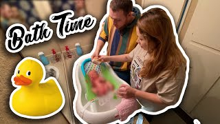 Baby Dax's First Bath At Home by The Baked Clam