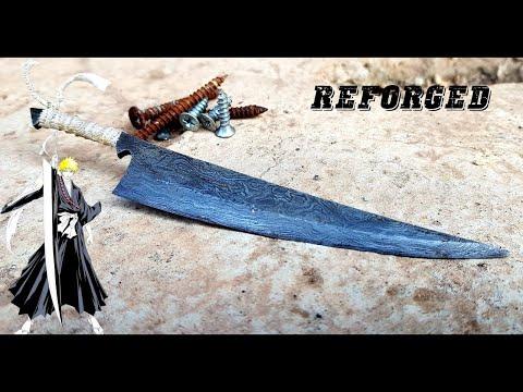 Rèn thanh kiếm Zangetsu của Ichigo