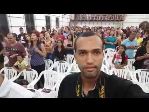 Culto na Igreja Batista do Bosque em Senador Guiomard - Acre Dia 22/05/2016