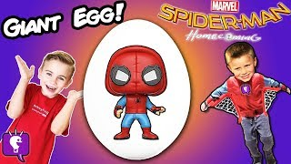Join the fun as the HobbyKids dress like and open up Spiderman Homecoming movie surprise toys from spiders and Vulture eggs.  This idea created by HobbyKidsTV. Subscribe for NEW Shows: http://www.youtube.com/subscription_center?add_user=HobbyKidsTV ---TOY VIDEOS---Family Video Gaming Fun: https://www.youtube.com/playlist?list=PLzDMAGLsSlZrhbIdcXn1B5qLtd_6D9407World's Biggest Surprise Eggs: https://www.youtube.com/playlist?list=PLzDMAGLsSlZoNvpGg-ijs4DlYu2RMSOxoGames and Challenges: https://www.youtube.com/playlist?list=PLzDMAGLsSlZqo_IVVsyn7Sn0yFehplgK1Best Family Fun Shows: https://www.youtube.com/playlist?list=PLzDMAGLsSlZpBsqsE4zkBbucAsQ0bgiWdLearning Playlist:http://www.youtube.com/playlist?list=PLzDMAGLsSlZo8aAHrPRzVmM_oW_hZtxdO---OUR OTHER HOBBY CHANNELS---HobbyFamilyTV (Vlog and Extras): http://www.youtube.com/user/hobbykidsvidsHobbyPigTV (Video Gaming):http://www.youtube.com/user/hobbygamestvHobbyFrogTV (Video Gaming):http://www.youtube.com/user/hobbytrixieHobbyBearTV (Toys, Video Games, more):http://www.youtube.com/user/hobbykidsland---FIND US---http://www.Twitter.com/HobbyKidsTVhttps://www.facebook.com/HobbyKidsTV/http://www.HobbyKidsTV.comhttps://www.instagram.com/hobbykidstv/---ABOUT HobbyKidsTV---HobbyKidsTV is the #1 place for kids to watch family-friendly clean shows! Video gaming and giant surprise egg adventures. We are world renowned for being the first and original inventor of all GIANT SURPRISE EGGS! It was our sons unique idea in 2013 to make a wonderful GIANT surprise egg for all our fans. We are the leader in kids creative ideas, skits and science fun. Subscribe to HobbyKidsTV, the trusted brand of families across the globe. We produce the best and most fun kids toy and gaming shows. Collector of the best toys to teach kids imaginative play through games or adventures. HobbyKids love sharing fun educational learning and popular play. Be a HobbyFan today and subscribe for free to see new edutainment shows!---MUSIC BY---Epidemic SoundCribs 43Car